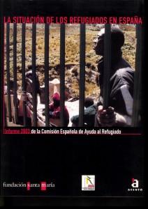 Informe 2003 de CEAR - Portada