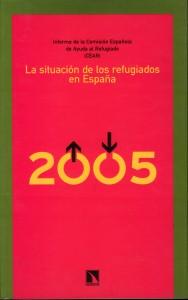 Informe 2005 de CEAR - Portada