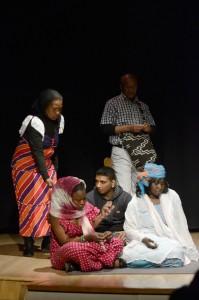 CEAR presentan en Valencia la lectura dramatizada de 'Ye-sé', fruto de un taller teatral para refugiados impartido por Isabel Requena