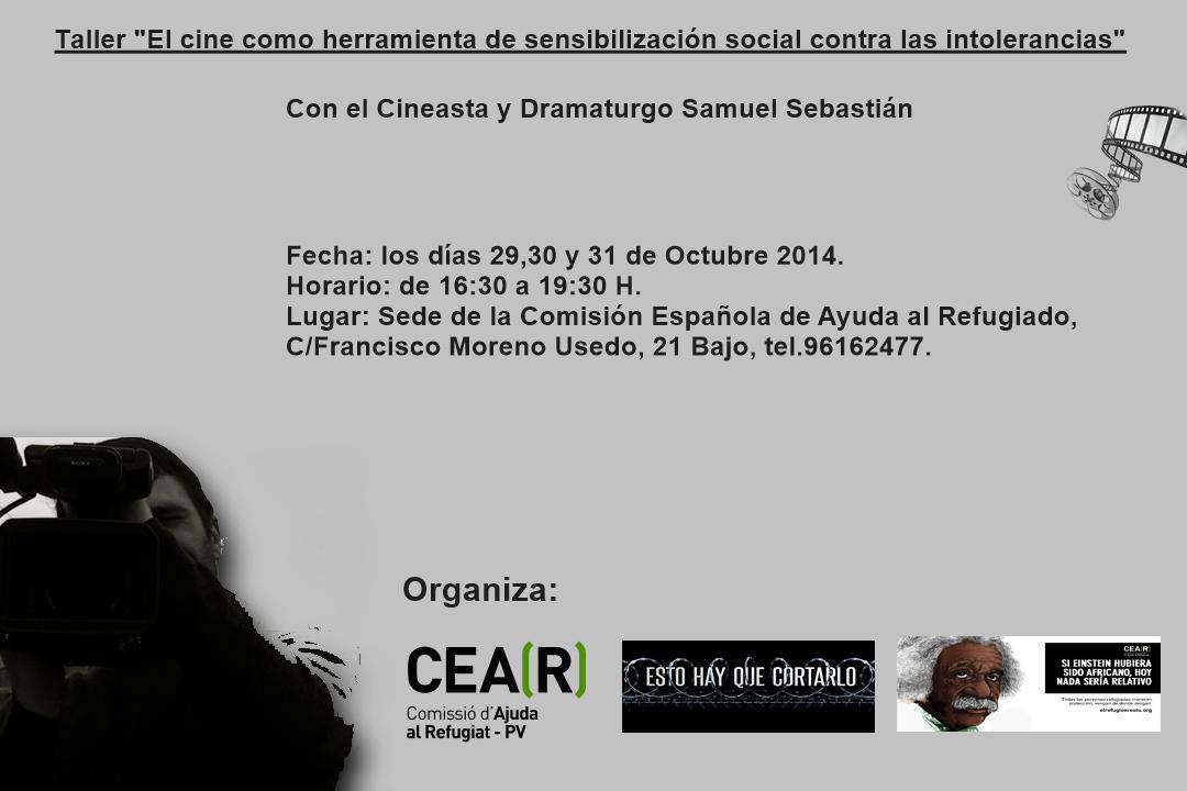 Cartel Cine CEAR-Pais Valencia