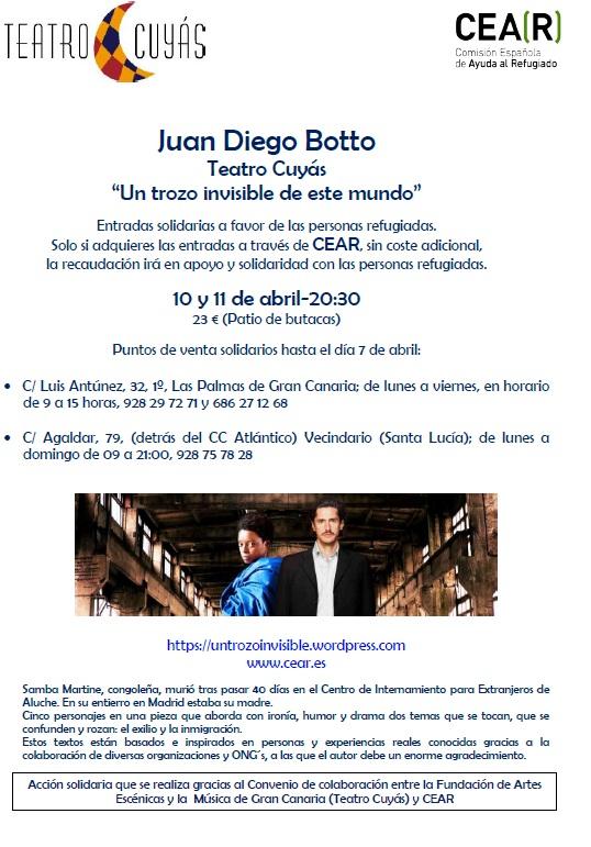 Cartel Teatro Cuyas