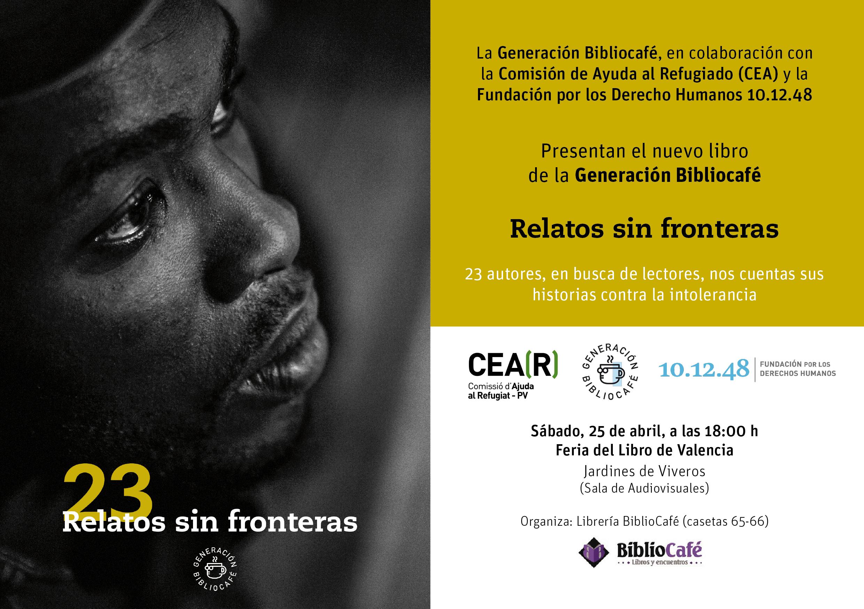 Invitacion presentacion Relatos sin fronteras