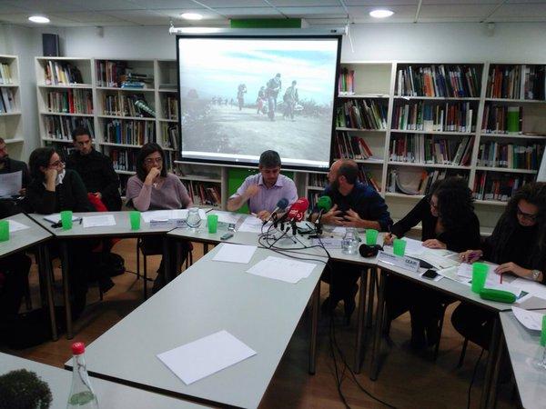 encuentro periodistas CEAR y Oxfam