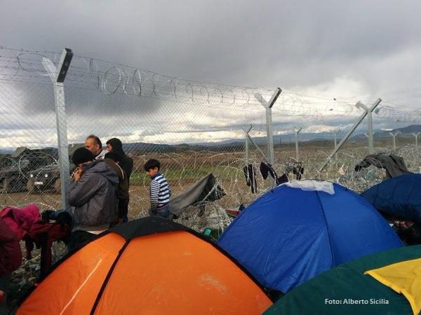 Campamento de refugiados de Idomeni