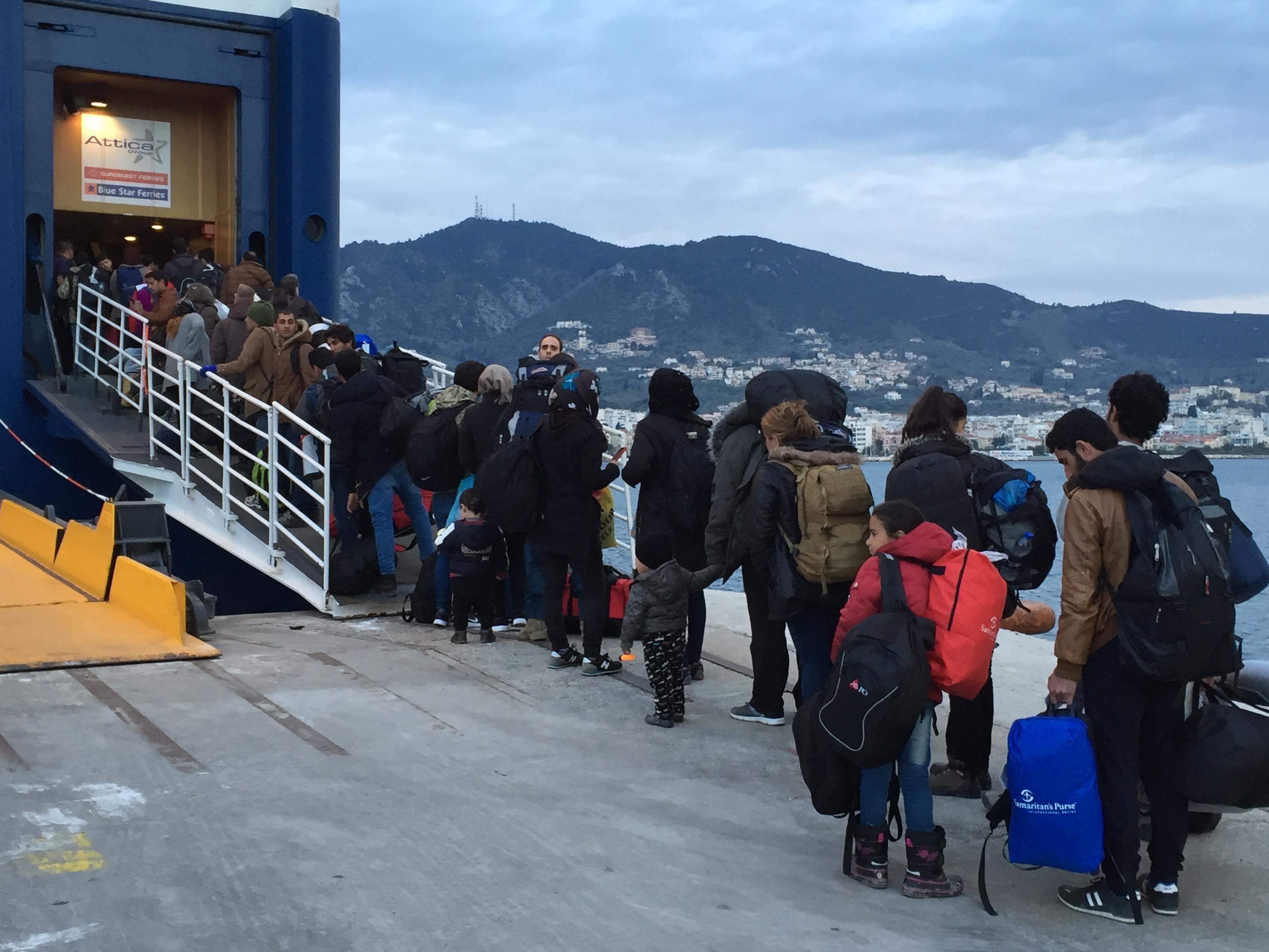 Puerto de Lesbos