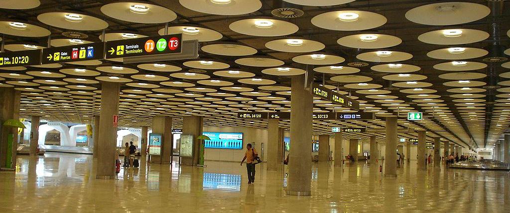 Aeropuerto T1 Barajas