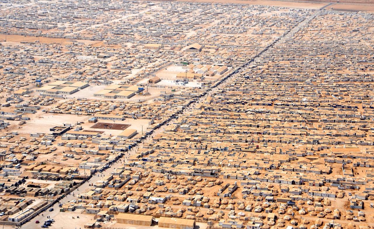 Campo de refugiados de Zataari
