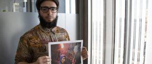 periodista egipcio refugiado