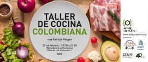 Taller cocina colombiana