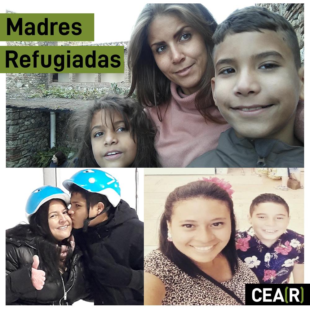 madres refugiadas