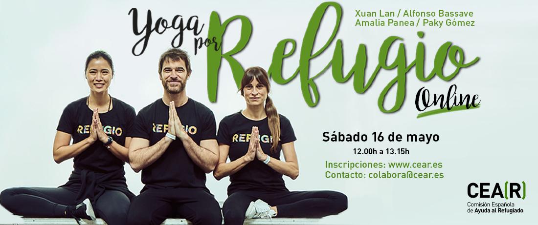 Yoga por Refugio online