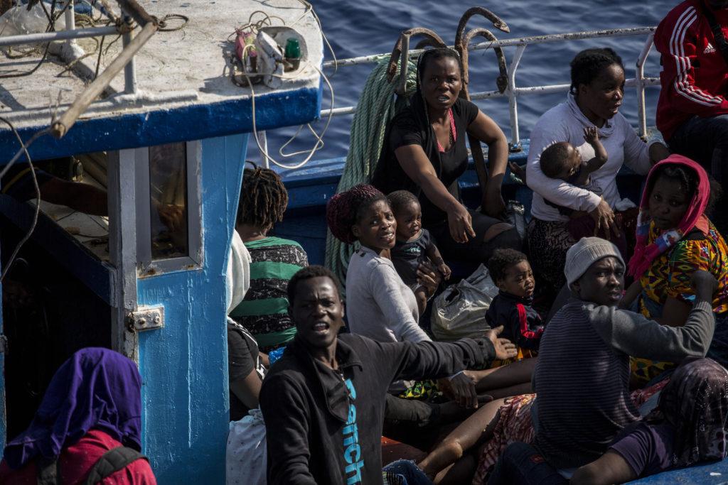 barco Mediterráneo Lampedusa