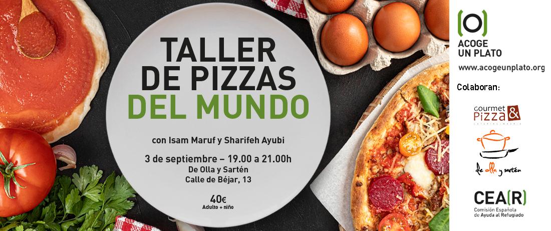 taller pizzas del mundo