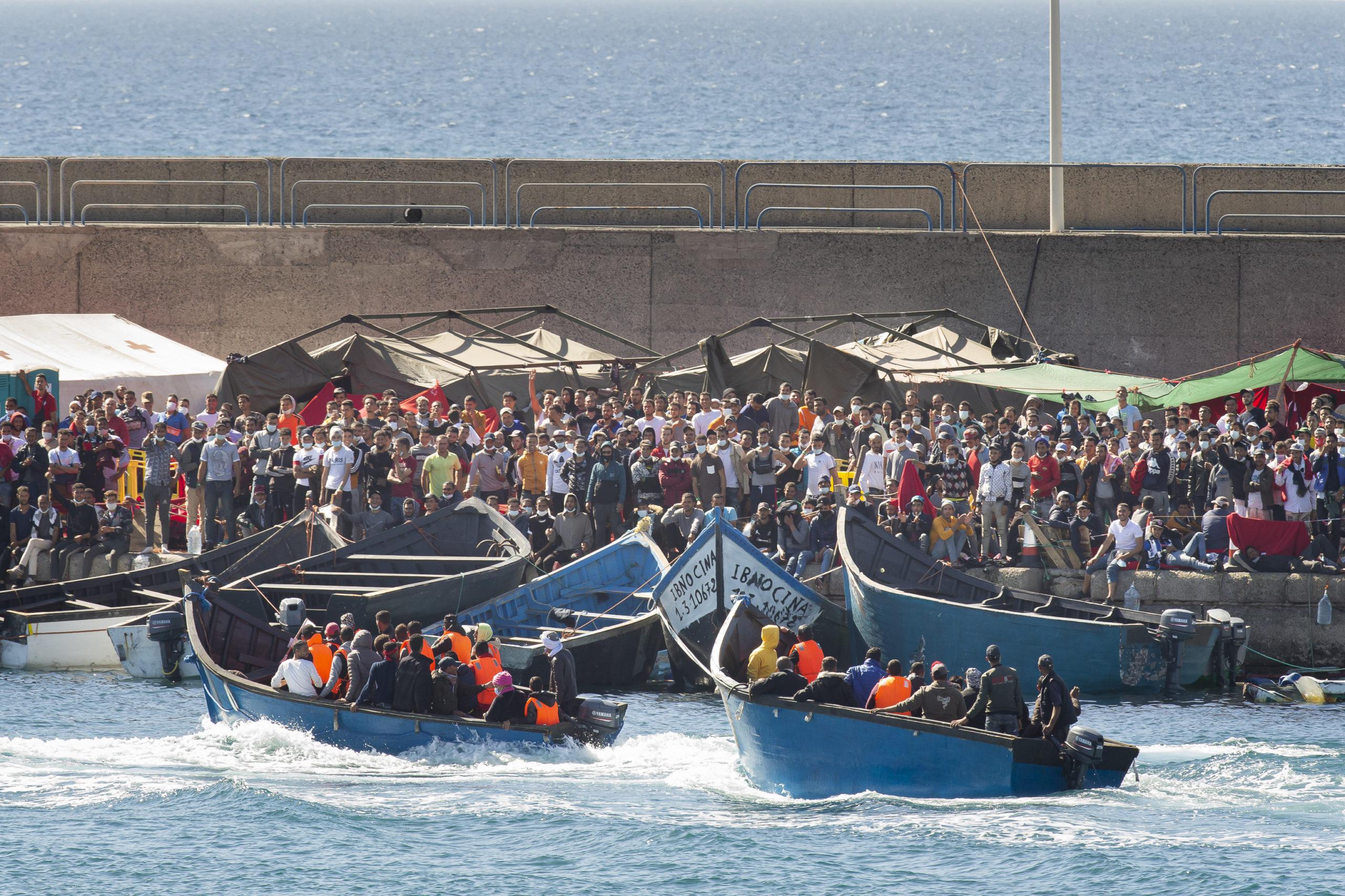 Llegada de pateras a Canarias