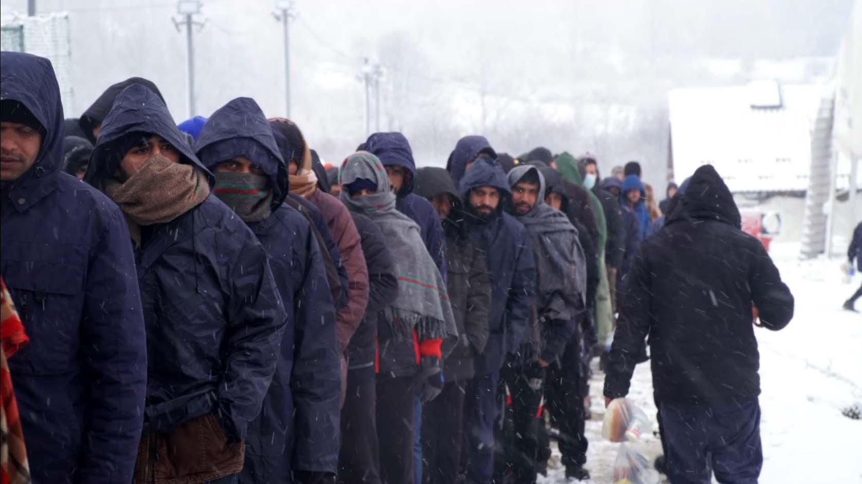 Migrantes Bosnia