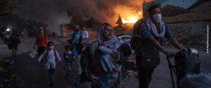 imagenes personas refugiadas