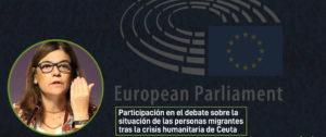 CEAR Parlamento Europeo Ceuta